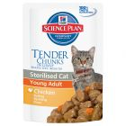 Hill's Science Plan Young Adult Sterilised Cat 6 x 85 g