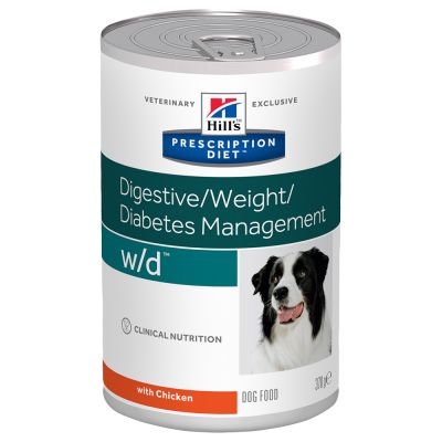 Hill's w/d Prescription Diet Digestive/Weight/Diabetes latas para perros