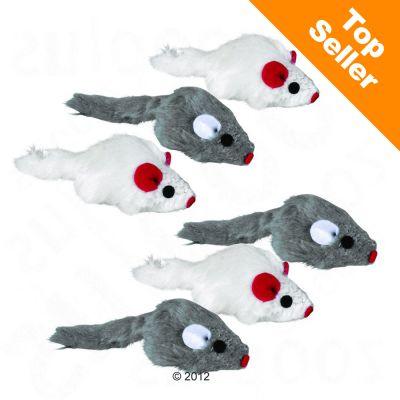 Hračka pro kočkyTrixie- plyšové myšky 18614ba0d7b