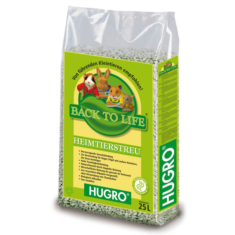 Hugro Back to Life Cellulose Litter