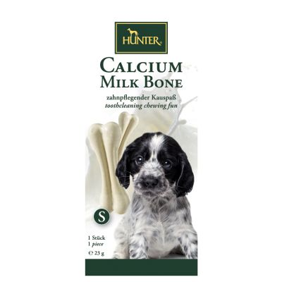 Hunter Calcium Milk Bone kość z wapniem, 6 x 23 g w super cenie!