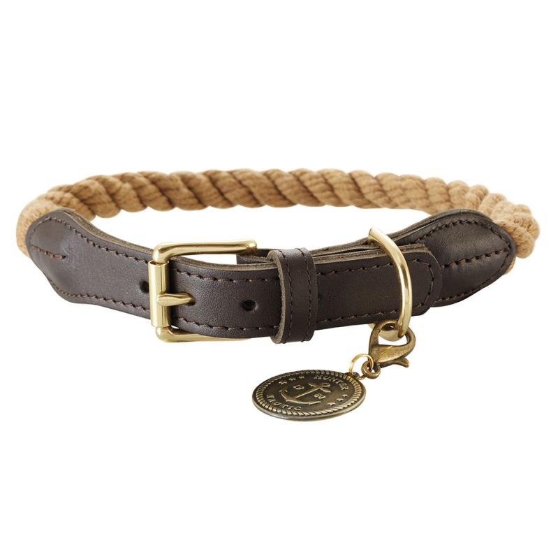 Hunter List Rope Collar - Beige