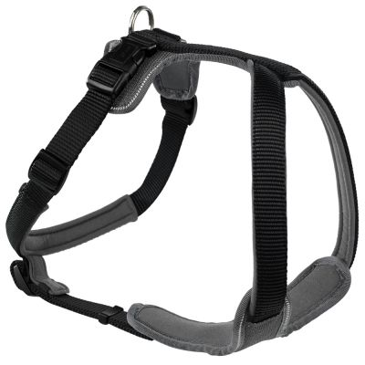 Hunter Neoprene Harness – Black / Grey