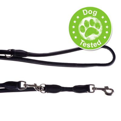 Hunter Round & Soft Dog Lead - Black