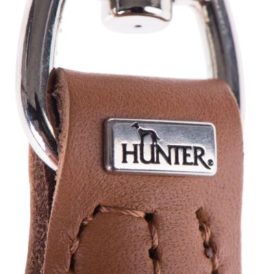 Hunter Round & Soft Dog Lead - Cognac