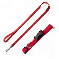 Hunter Set: Ecco Sport Collar and Dog Lead, red