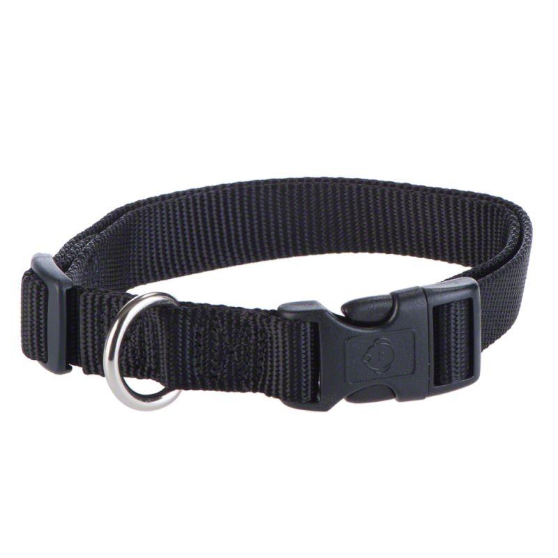 Hunter Vario Basic Ecco Sport Dog Collar - Black