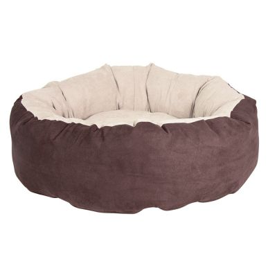 Hunting Pet Bed - Brown / Beige