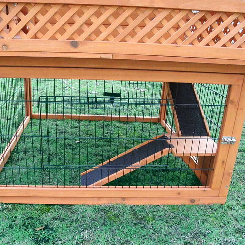 HUTCH STARTER SET - OUTBACK RABBIT HUTCH PAGODA WITH RUN