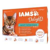 IAMS Delights Adult in Gelatina 12 x 85 g