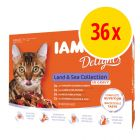 IAMS Delights Adult in Sauce 36 x 85 g