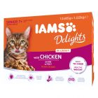 IAMS Delights Senior in Sauce - kana