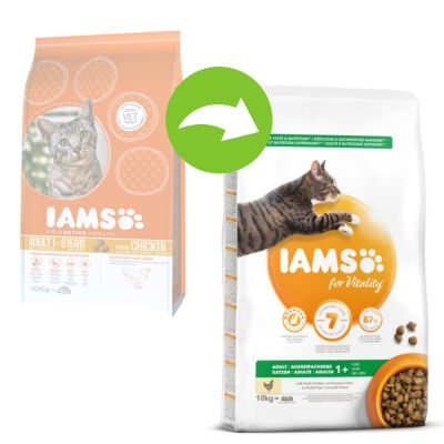 Iams For Vitality Adult Chicken Dry Cat Food Top Deals