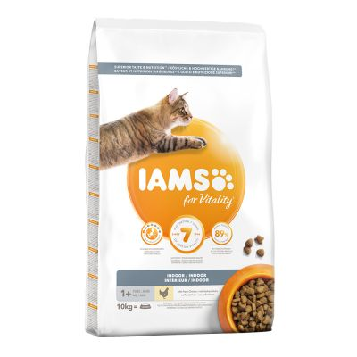 IAMS for Vitality Cat Indoor con Pollo fresco