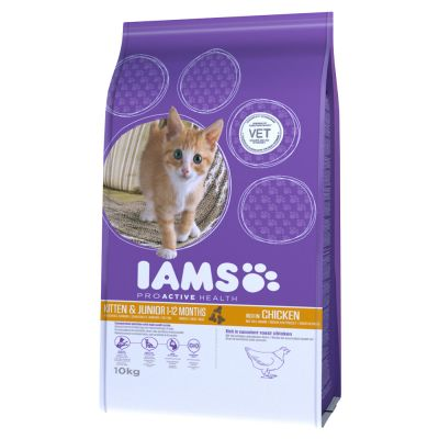 IAMS for Vitality Gattino con Pollo fresco