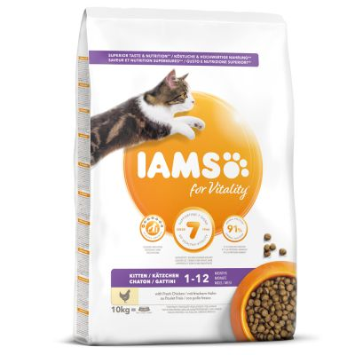 IAMS for Vitality Kitten poulet pour chaton