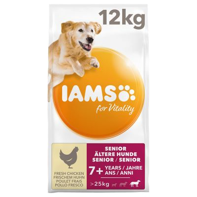 IAMS for Vitality Senior & Mature Large Dog - Chicken