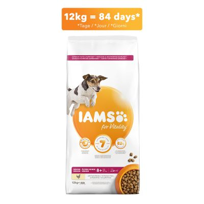 IAMS for Vitality Senior & Mature Small Medium poulet