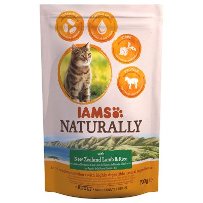 IAMS Naturally Cat Adult Agnello