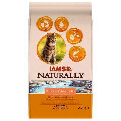 Iams Naturally Dry Cat Food Iams Naturally Cat Adult Salmon