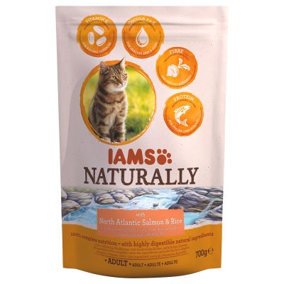 IAMS Naturally Cat Adult Salmone