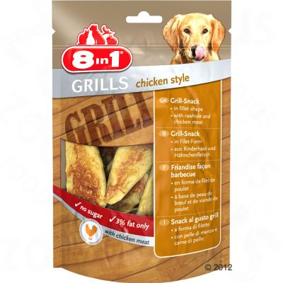 8in1 Delights Grills Chicken pour chien