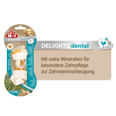 8in1 Delights Pro Dental Ossi da masticare