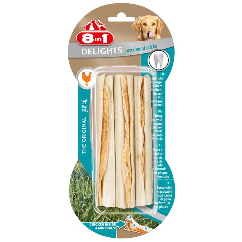 8in1 Delights Pro Dental Twist Sticks