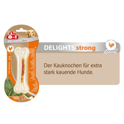 8in1 Delights Strong tyggeben kylling