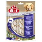 8in1 Delights Twisted Sticks 190 g (35 stuks)