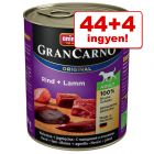 44 + 4 ingyen! 48 x 800 g Animonda GranCarno Original Adult