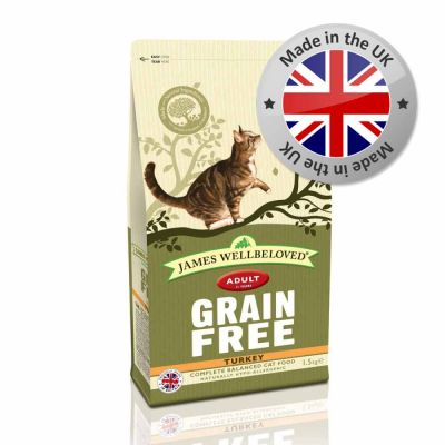 James Wellbeloved Adult Cat Grain Free - Turkey
