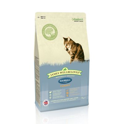 James Wellbeloved Adult Cat Hairball, indyk