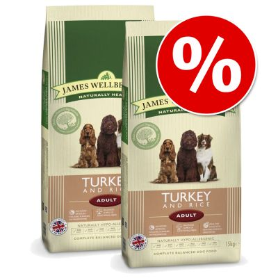 James Wellbeloved Dry Dog Food Economy Packs