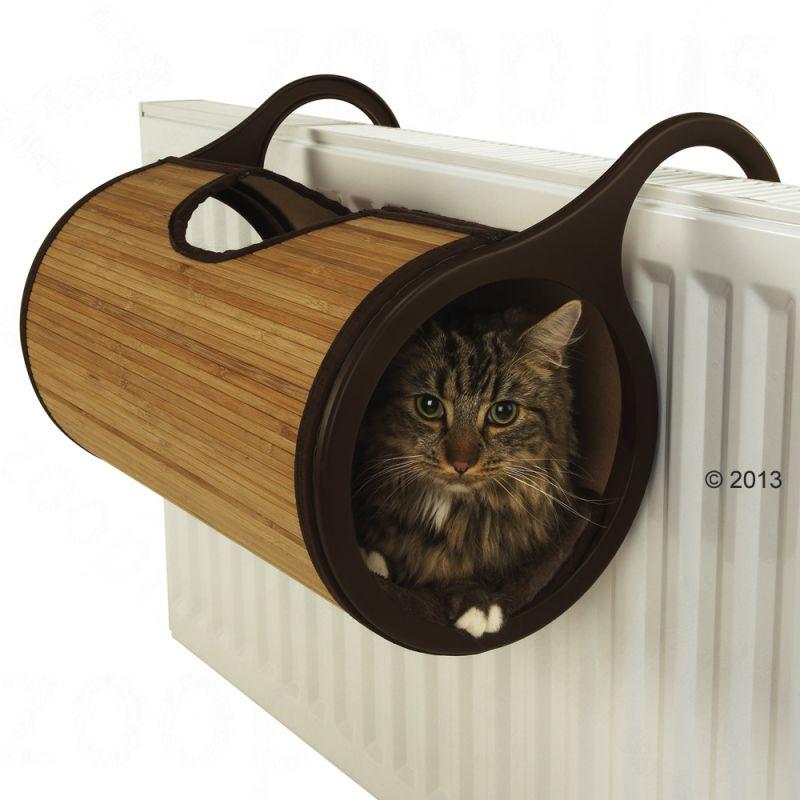 Heizungsliege für Katzen günstig bei zooplus.ch: Jolly Moggy Bambus ...