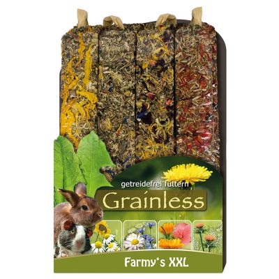 JR Farm Farmy's Grainless XXL pour rongeur et lapin