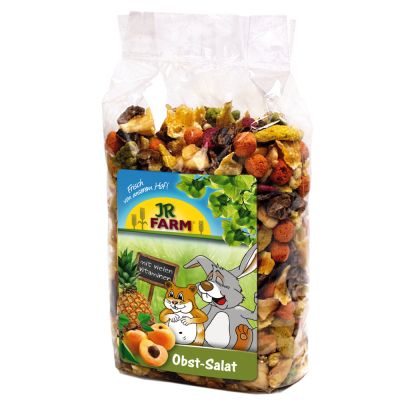 jr farm fruit salad great small pet snacks at zooplus. Black Bedroom Furniture Sets. Home Design Ideas