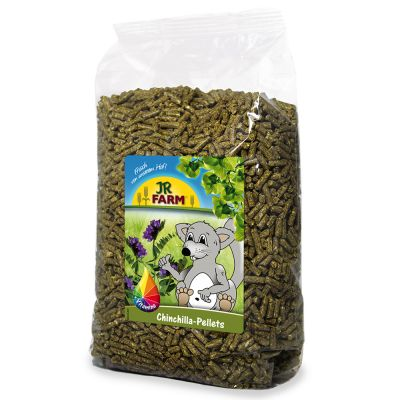 JR Farm pellets para chinchillas