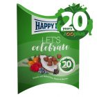 Jubileumeditie Happy Dog Snack Let's Celebrate