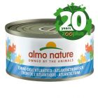 Jubileumeditie Almo Nature 6 x 70 g