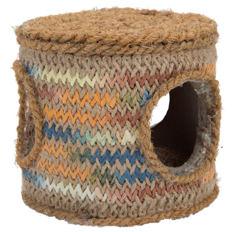 Karlie Coconut Rope Small Pet Barrel