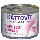 Kattovit Diabetes 6 x 175 g pour chat