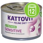 Kattovit Sensitive 12 x 175 g Kattenvoer