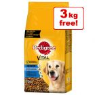 13kg Pedigree Senior 8+ Complete Dry Dog Food - 10kg + 3kg Free!*