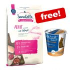 10kg Sanabelle Dry Cat Food + 150g Shiny Hair Cat Snack Free!*