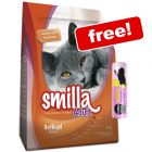 10kg Smilla Dry Cat Food + 30g Cosma Snackies XXL - Chicken Free!*
