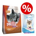 4kg Smilla Dry Cat Food + My Star Milky Cups Mixed Pack - Bundle Price!*