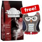 2kg Wild Freedom Dry Cat Food + Hedwig Toy Free!*
