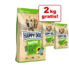 15 kg + 2 gratis! 17 kg Happy Dog NaturCroq