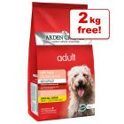 12kg Arden Grange Dog Adult Chicken & Rice + 2kg Extra Free!*
